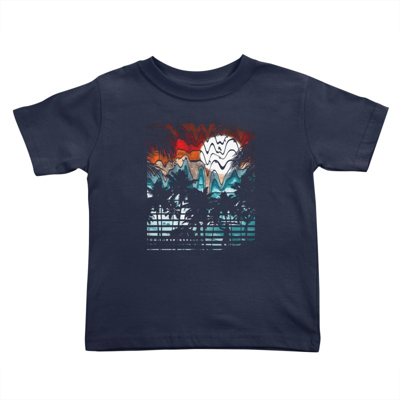 SUMMER MELTDOWN Kids Toddler T-Shirt by dzeri29's Artist Shop