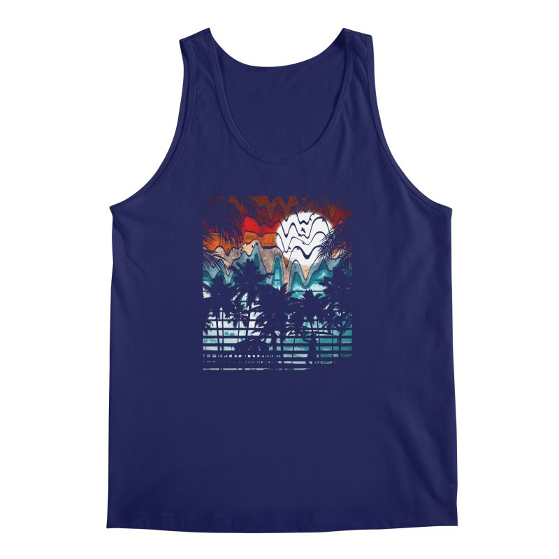 SUMMER MELTDOWN Men's Regular Tank by dzeri29's Artist Shop