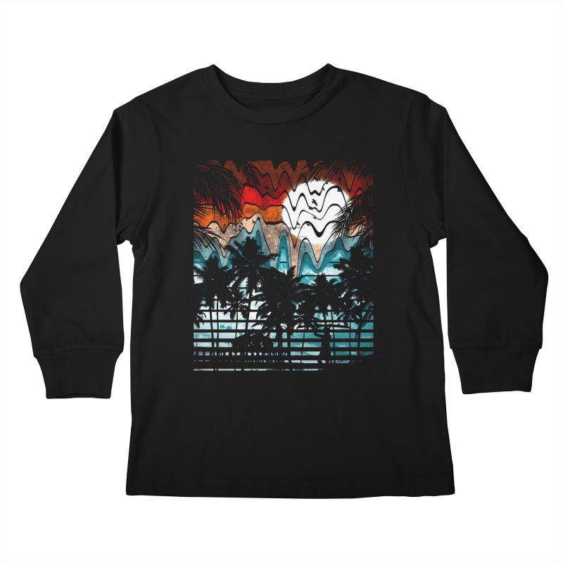 SUMMER MELTDOWN Kids Longsleeve T-Shirt by dzeri29's Artist Shop