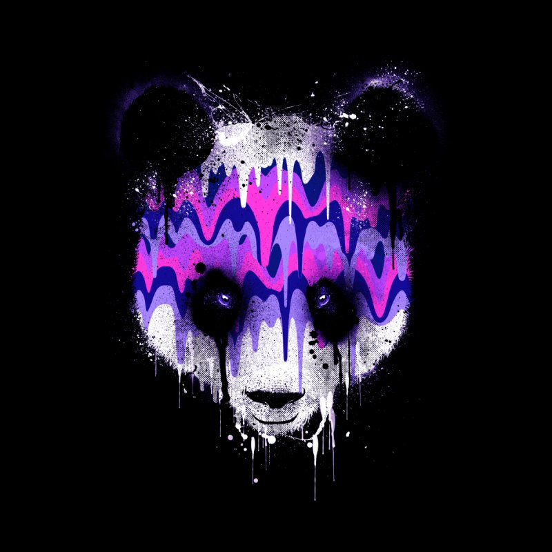 PANDA DRIP None  by dzeri29's Artist Shop