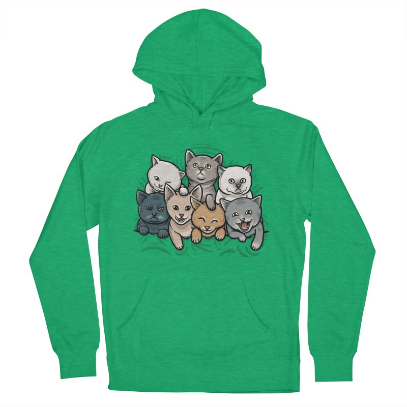 KITTENS Women's Pullover Hoody by dzeri29's Artist Shop