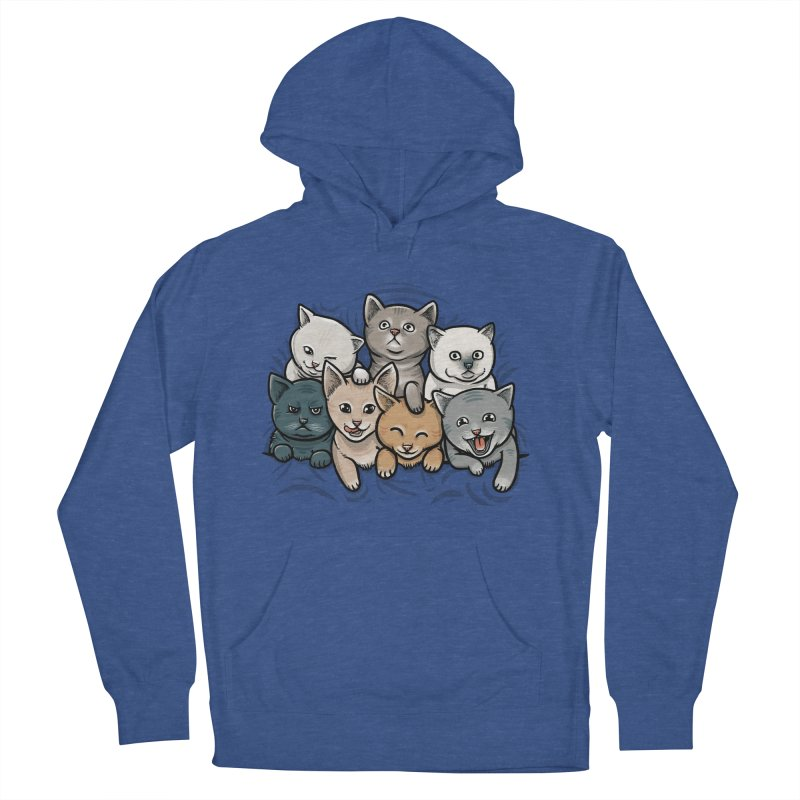 KITTENS Women's French Terry Pullover Hoody by dzeri29's Artist Shop