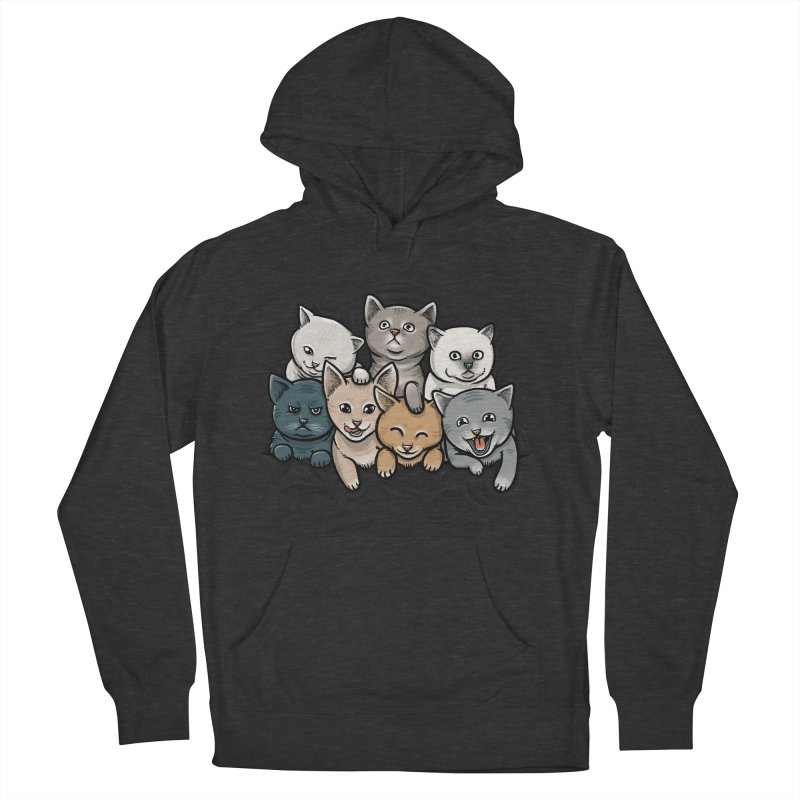 KITTENS Men's Pullover Hoody by dzeri29's Artist Shop