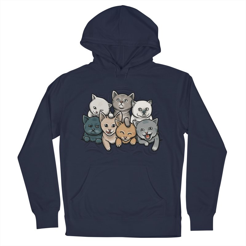 KITTENS Men's French Terry Pullover Hoody by dzeri29's Artist Shop