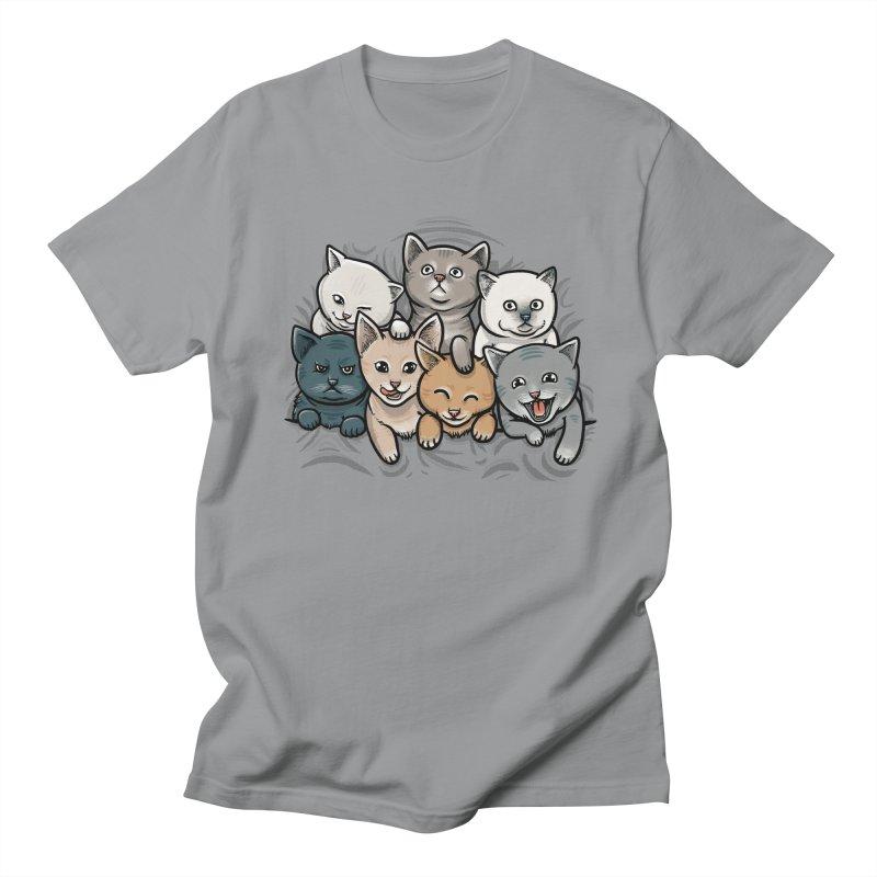 KITTENS Men's T-shirt by dzeri29's Artist Shop
