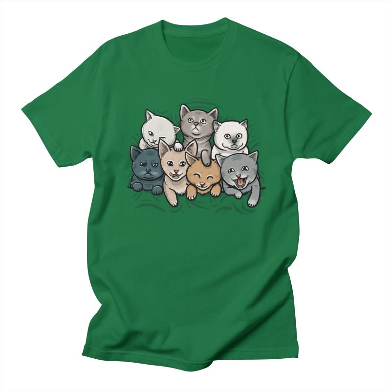 KITTENS Men's T-Shirt by dzeri29's Artist Shop