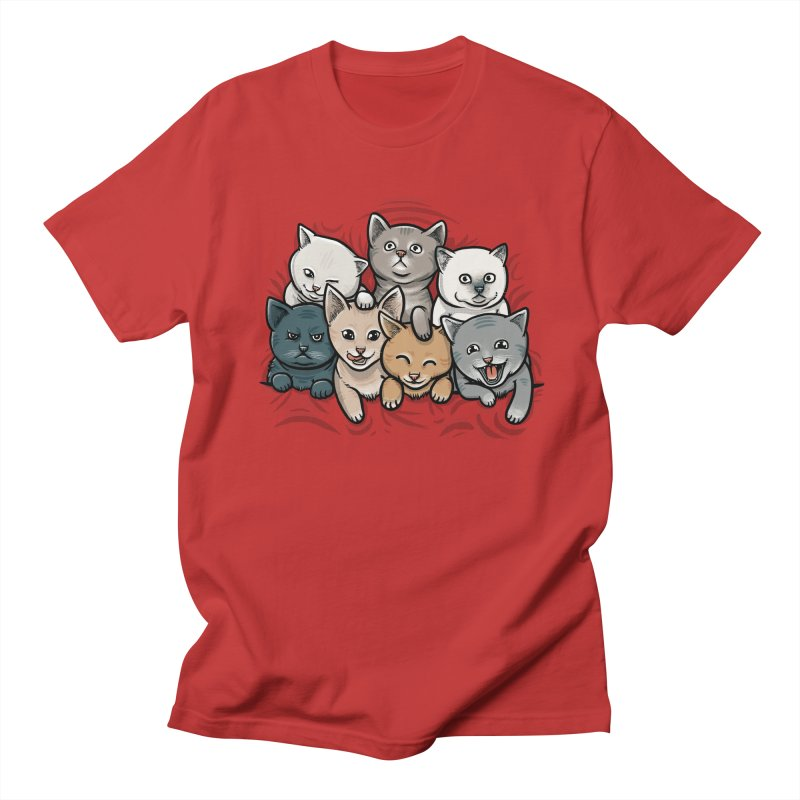 KITTENS Men's Regular T-Shirt by dzeri29's Artist Shop