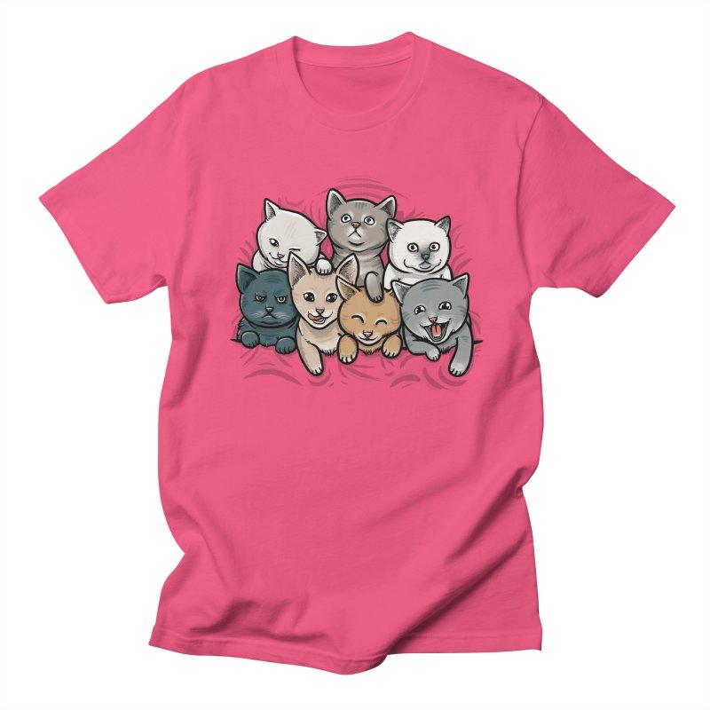 KITTENS Men's Regular T-Shirt by dzeri29's Artist Shop