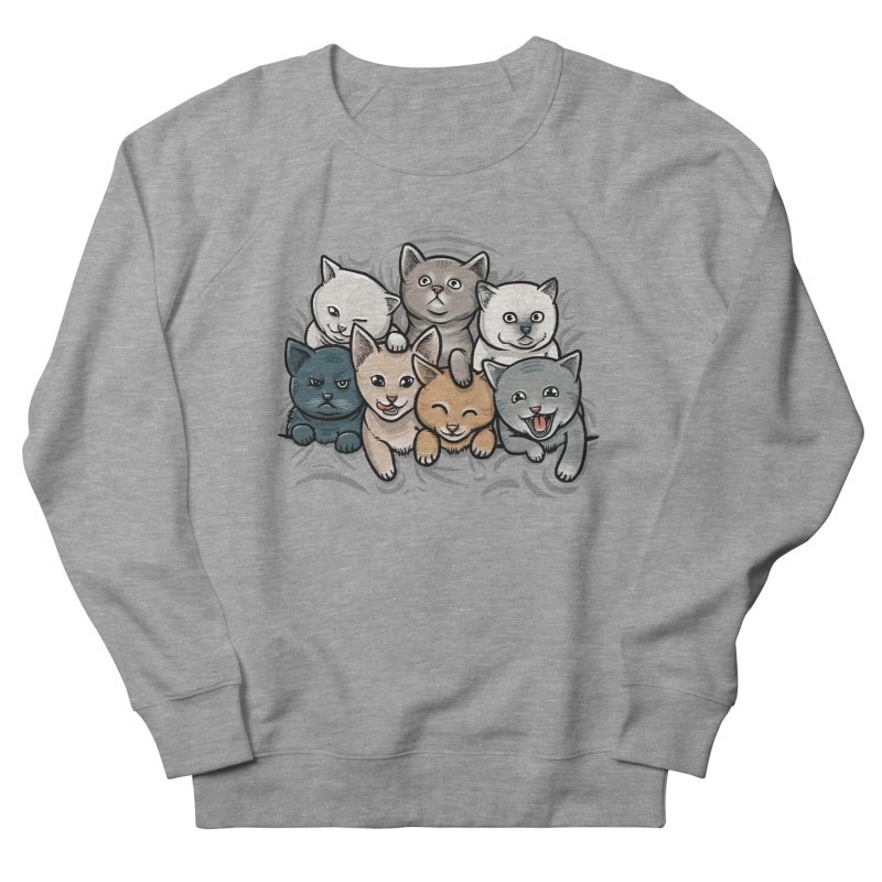 KITTENS Women's French Terry Sweatshirt by dzeri29's Artist Shop