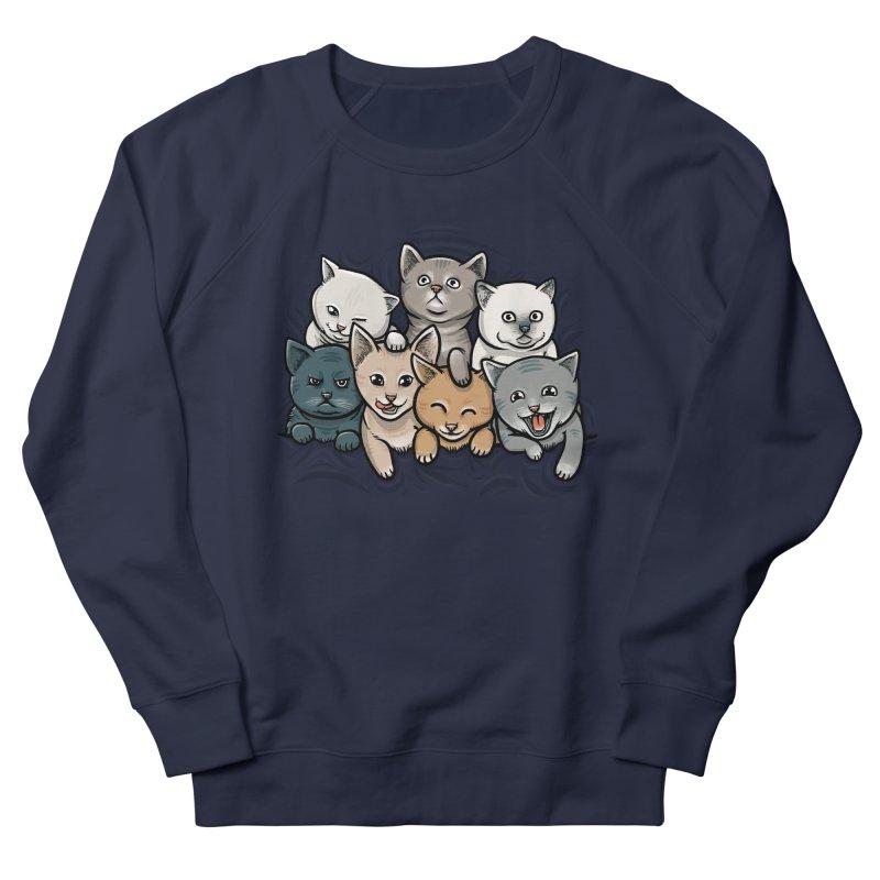 KITTENS Women's Sweatshirt by dzeri29's Artist Shop