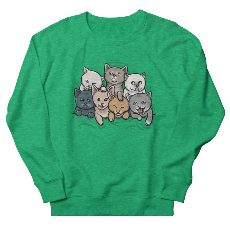 KITTENS Men's French Terry Sweatshirt by dzeri29's Artist Shop