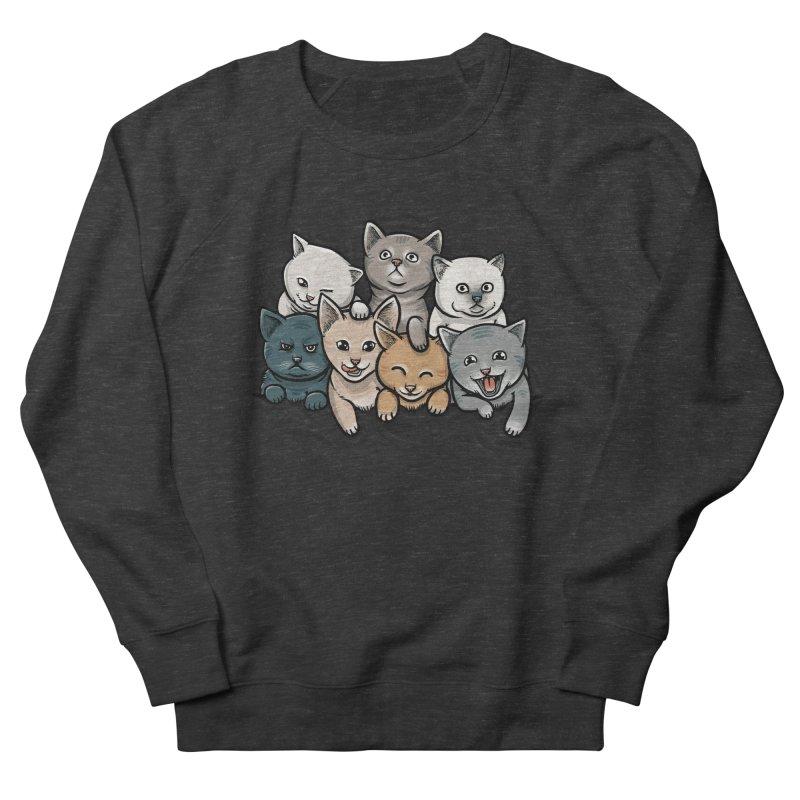 KITTENS Men's French Terry Sweatshirt by dzeri29's Artist Shop