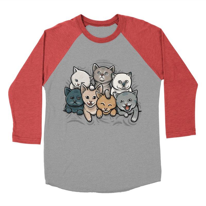 KITTENS Men's Baseball Triblend T-Shirt by dzeri29's Artist Shop