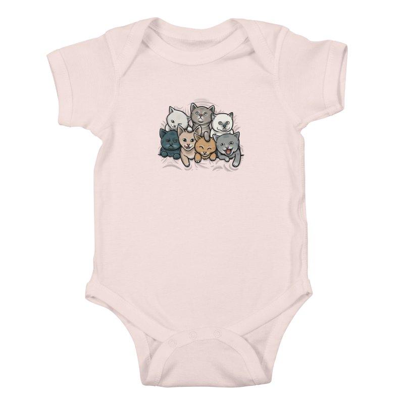 KITTENS Kids Baby Bodysuit by dzeri29's Artist Shop