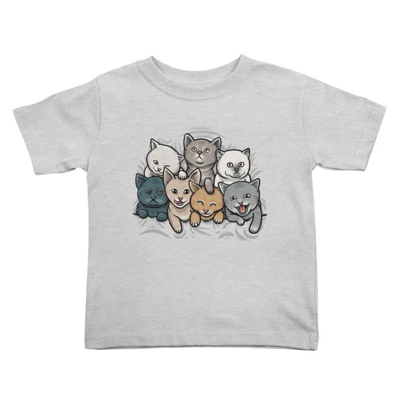KITTENS Kids Toddler T-Shirt by dzeri29's Artist Shop