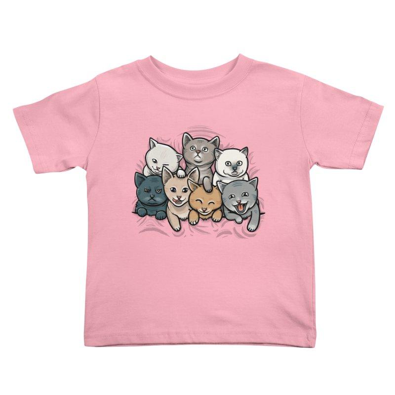 KITTENS Kids Toddler T-Shirt by dzeri29's Artist Shop