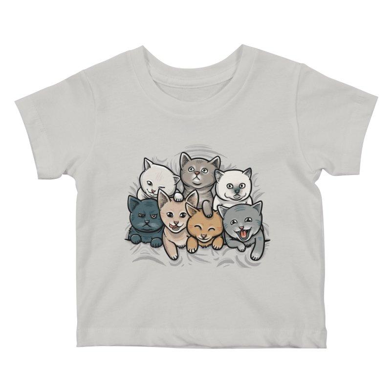 KITTENS Kids Baby T-Shirt by dzeri29's Artist Shop