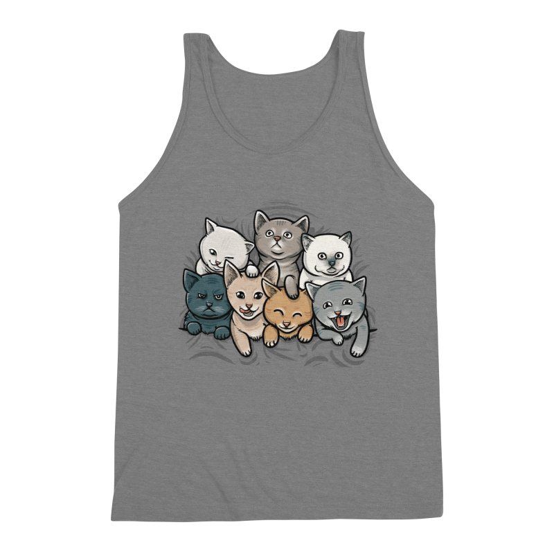 KITTENS Men's Triblend Tank by dzeri29's Artist Shop