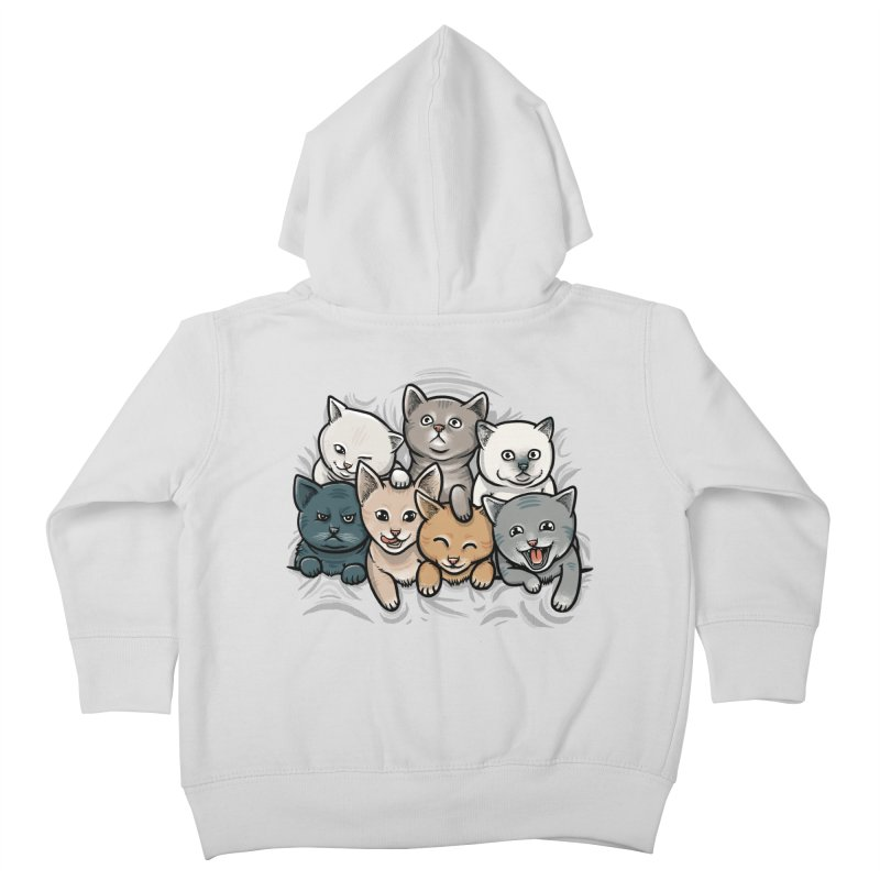 KITTENS Kids Toddler Zip-Up Hoody by dzeri29's Artist Shop