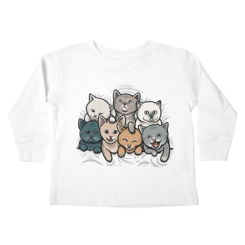 KITTENS Kids Toddler Longsleeve T-Shirt by dzeri29's Artist Shop