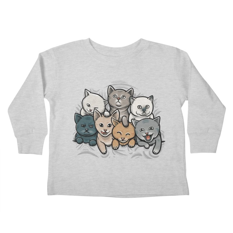 KITTENS Kids Toddler Longsleeve T-Shirt by dzeri29's Artist Shop