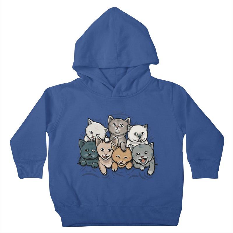 KITTENS Kids Toddler Pullover Hoody by dzeri29's Artist Shop
