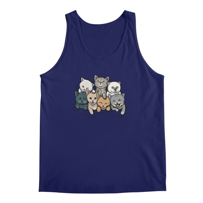 KITTENS Men's Regular Tank by dzeri29's Artist Shop