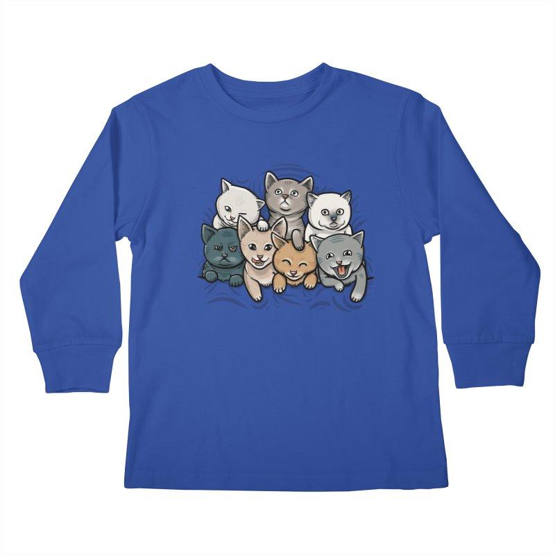 KITTENS Kids Longsleeve T-Shirt by dzeri29's Artist Shop