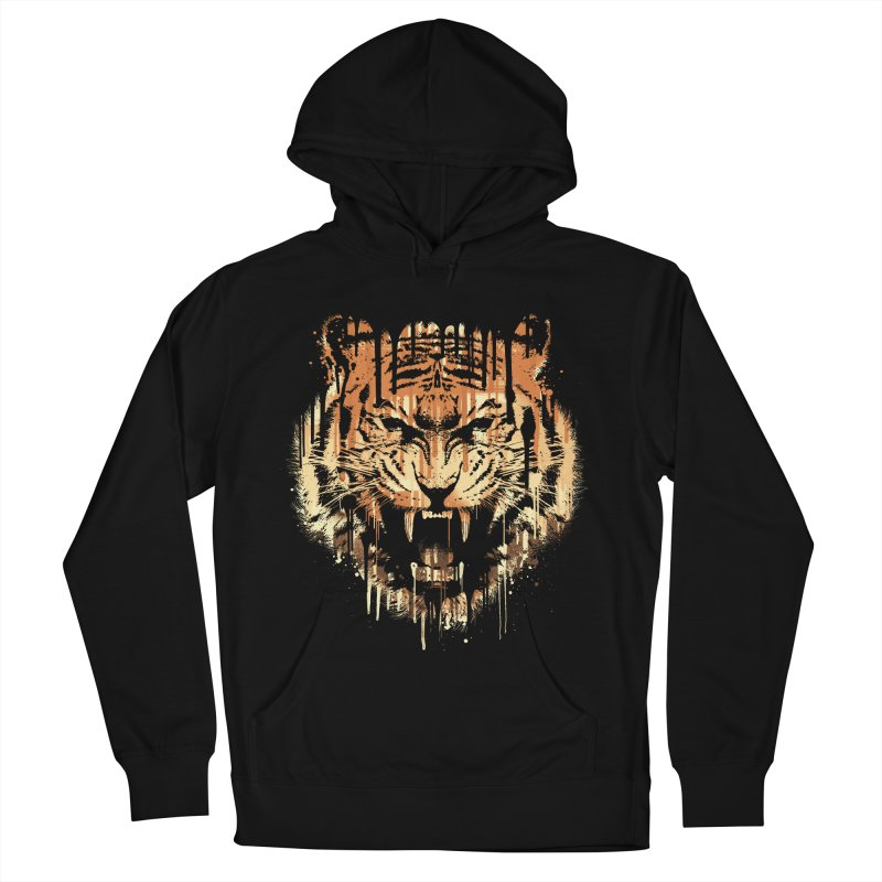 FEARLESS Men's French Terry Pullover Hoody by dzeri29's Artist Shop
