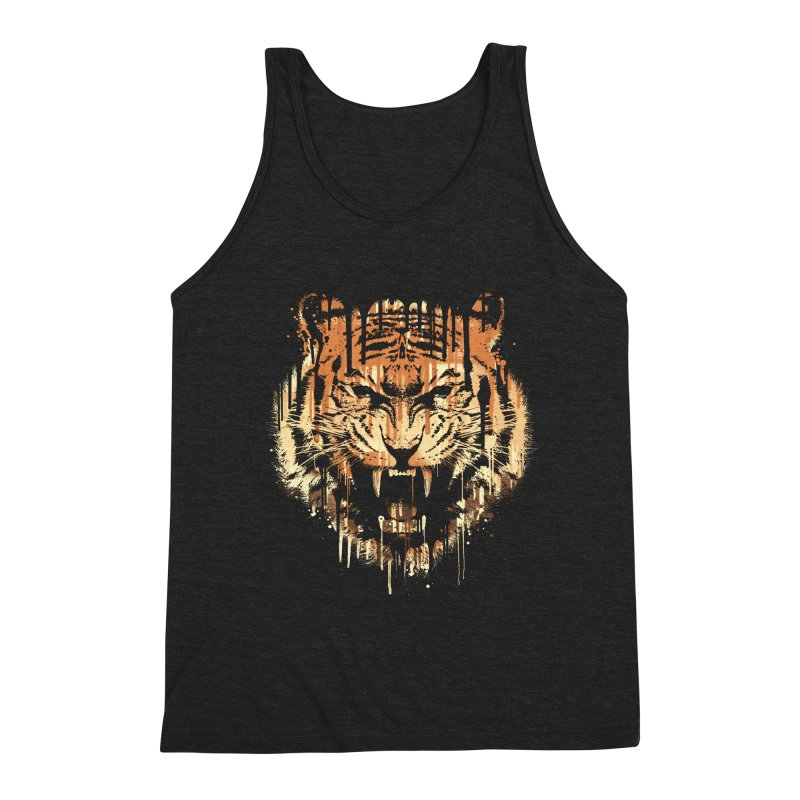 FEARLESS Men's Triblend Tank by dzeri29's Artist Shop