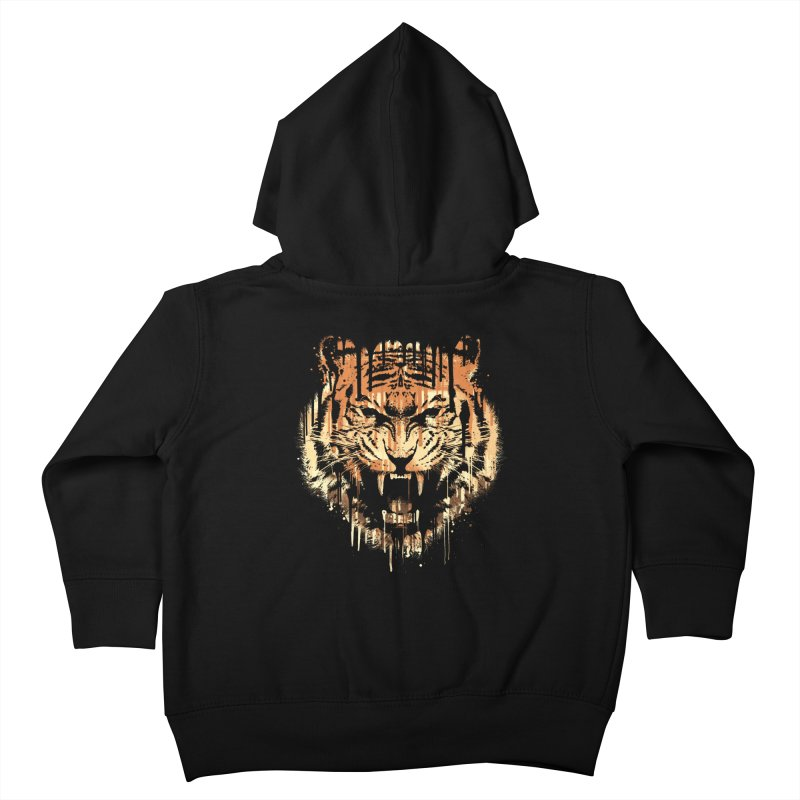 FEARLESS Kids Toddler Zip-Up Hoody by dzeri29's Artist Shop