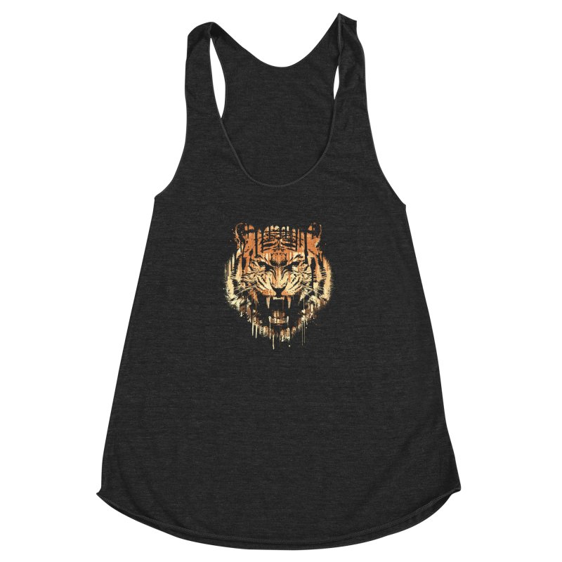FEARLESS Women's Racerback Triblend Tank by dzeri29's Artist Shop