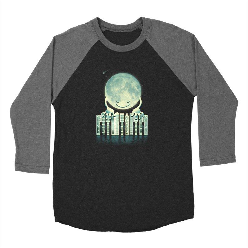 CITY TUNES Men's Baseball Triblend Longsleeve T-Shirt by dzeri29's Artist Shop