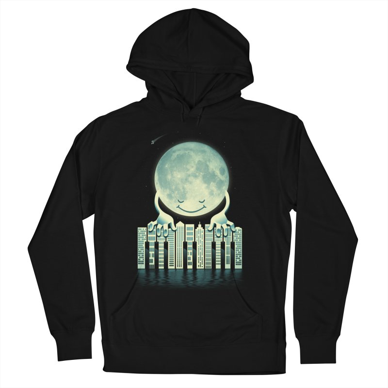 CITY TUNES Men's French Terry Pullover Hoody by dzeri29's Artist Shop
