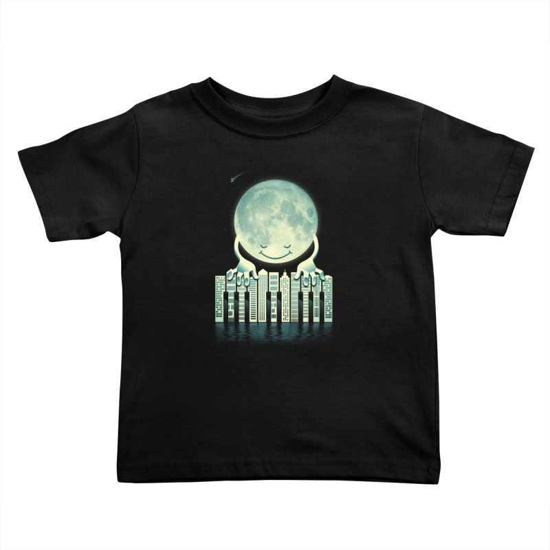 CITY TUNES Kids Toddler T-Shirt by dzeri29's Artist Shop