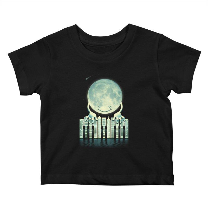 CITY TUNES Kids Baby T-Shirt by dzeri29's Artist Shop