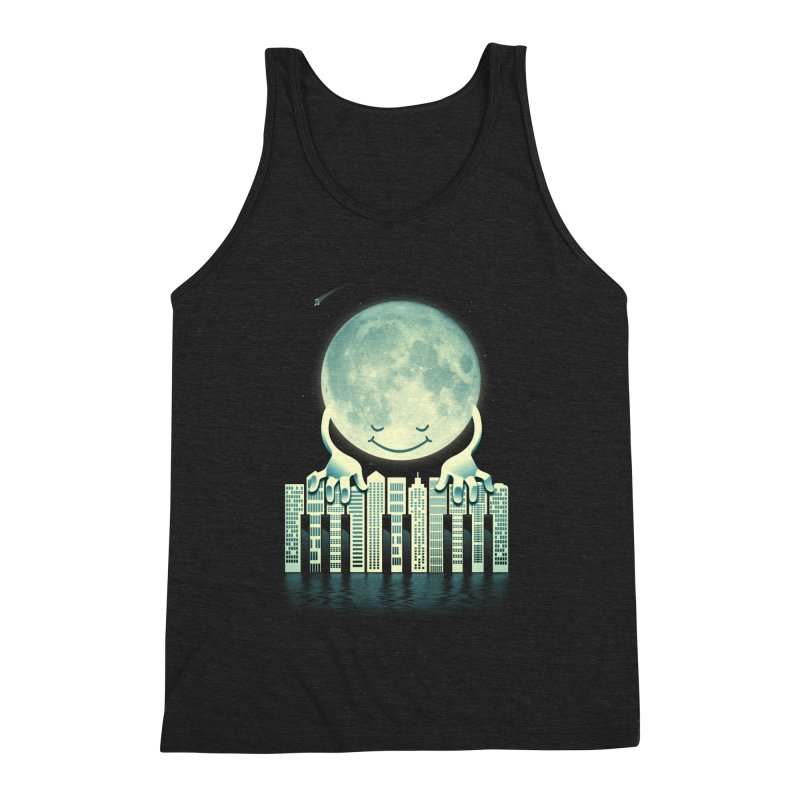 CITY TUNES Men's Triblend Tank by dzeri29's Artist Shop