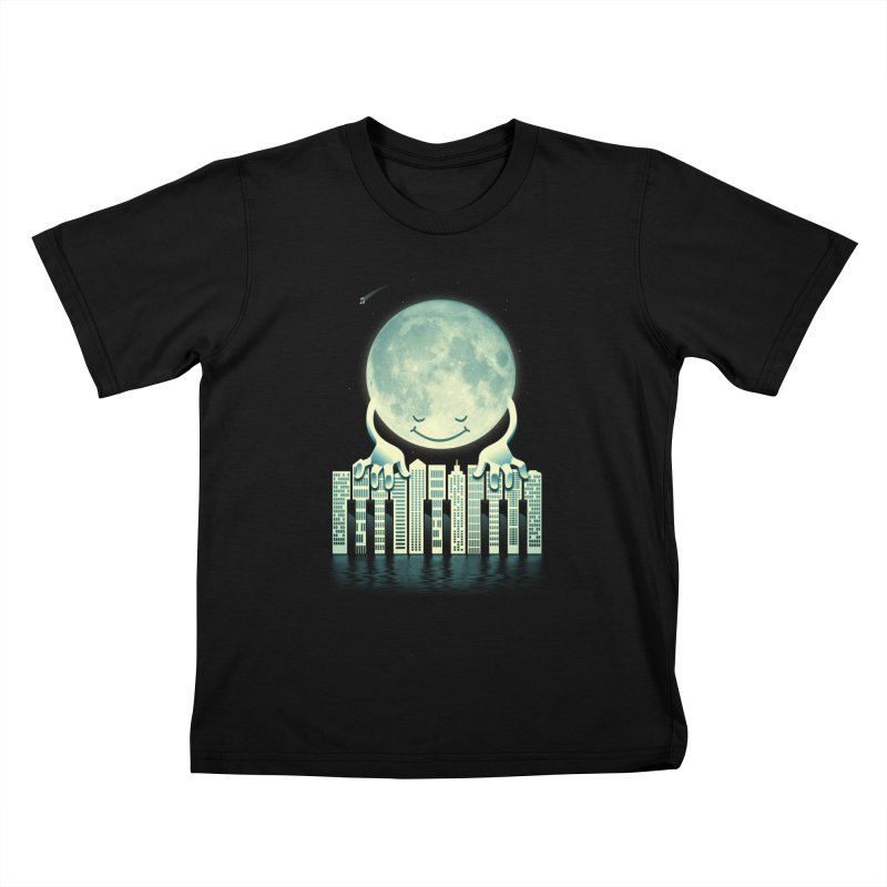 CITY TUNES Kids T-shirt by dzeri29's Artist Shop