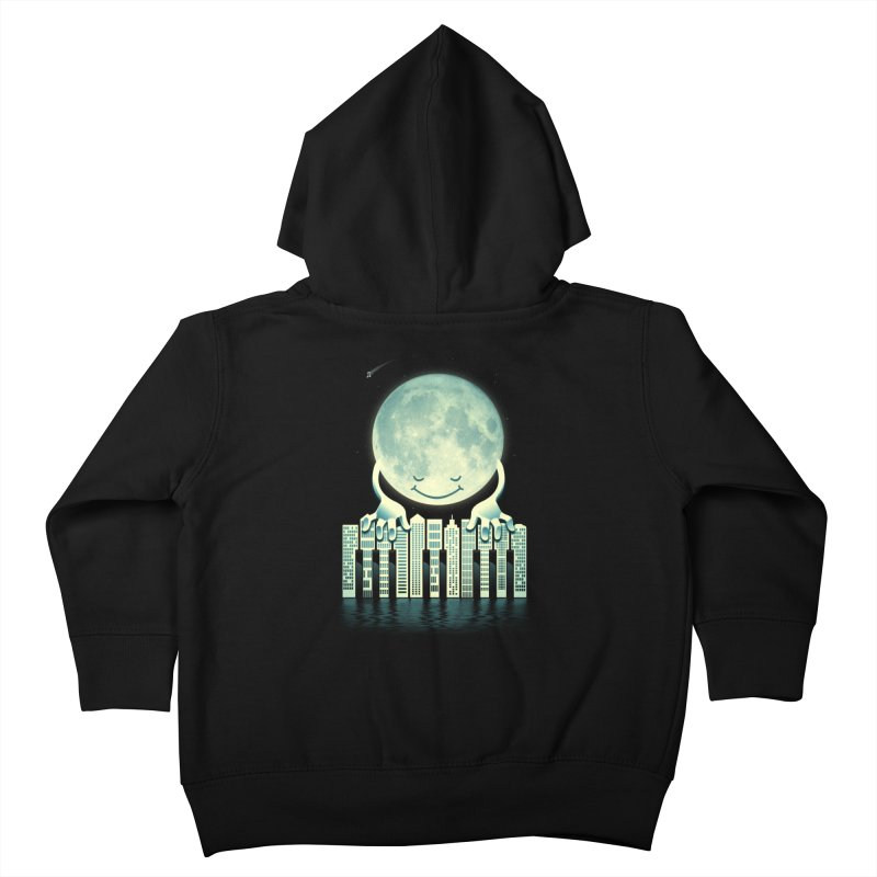 CITY TUNES Kids Toddler Zip-Up Hoody by dzeri29's Artist Shop