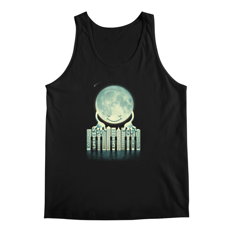 CITY TUNES Men's Regular Tank by dzeri29's Artist Shop