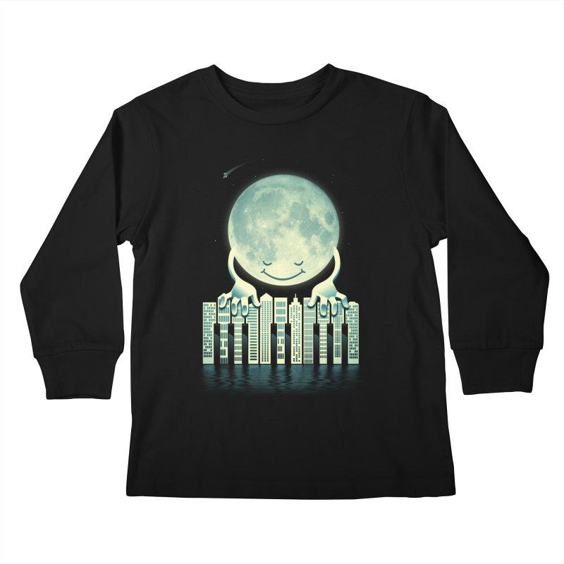 CITY TUNES Kids Longsleeve T-Shirt by dzeri29's Artist Shop