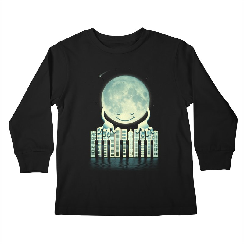 CITY TUNES Kids Longsleeve T-Shirt by dzeri29's Artist Shop