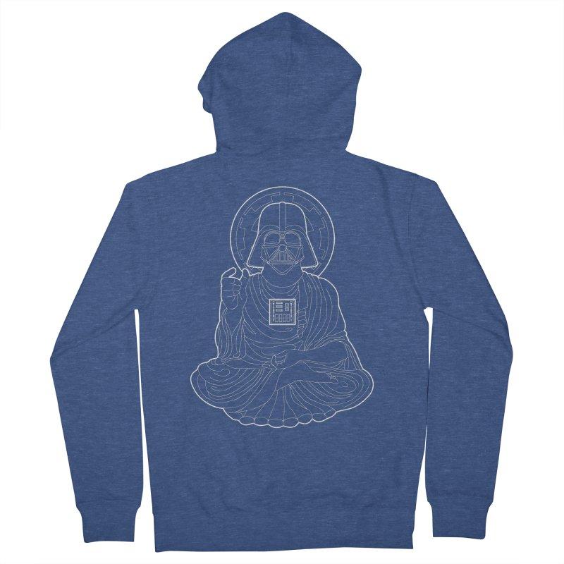 Darth Buddha Men's Zip-Up Hoody by dZus's Artist Shop