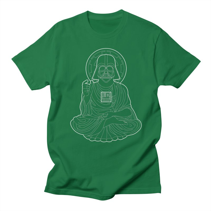 Darth Buddha Men's Regular T-Shirt by dZus's Artist Shop