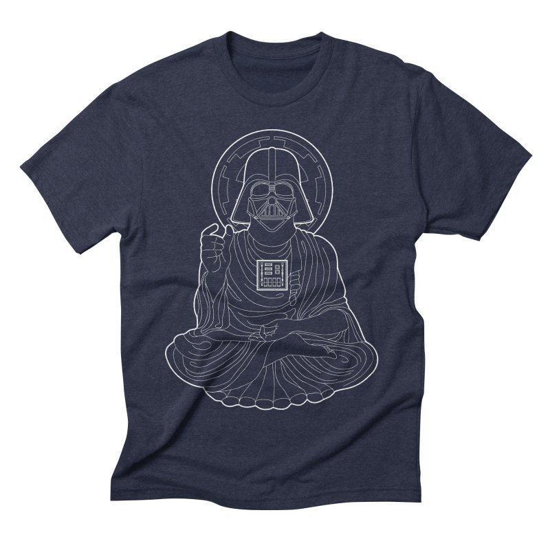 Darth Buddha Men's Triblend T-shirt by dZus's Artist Shop