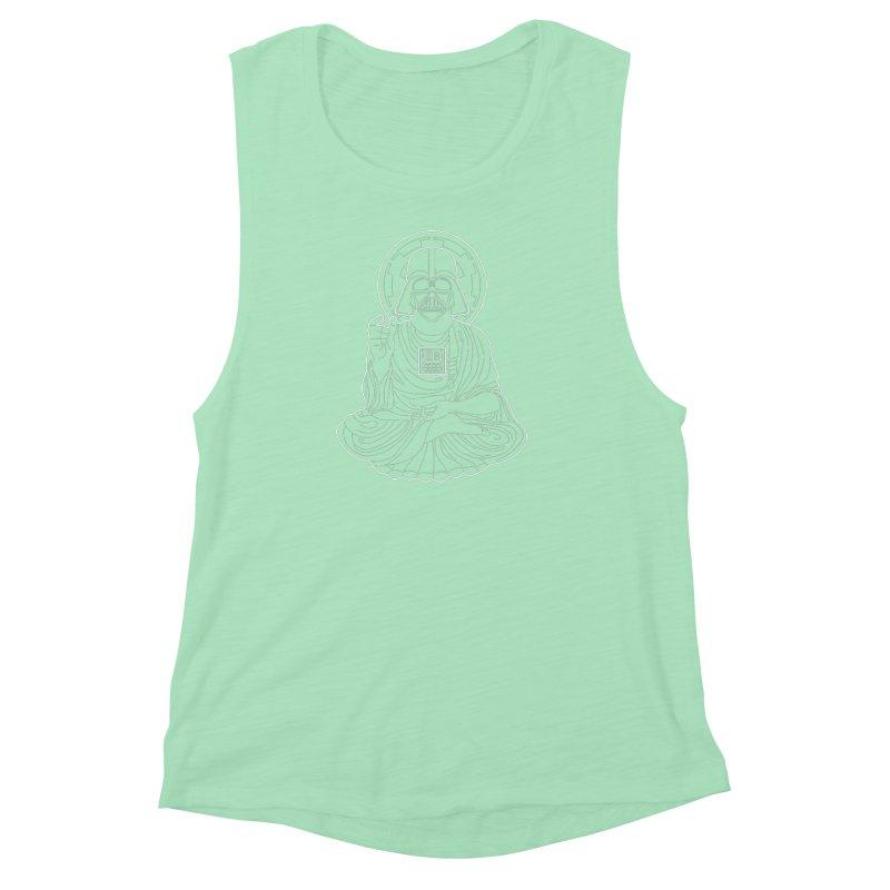 Darth Buddha Women's Muscle Tank by dZus's Artist Shop