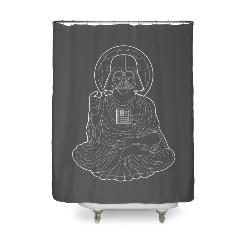 Darth Buddha Home Shower Curtain by dZus's Artist Shop