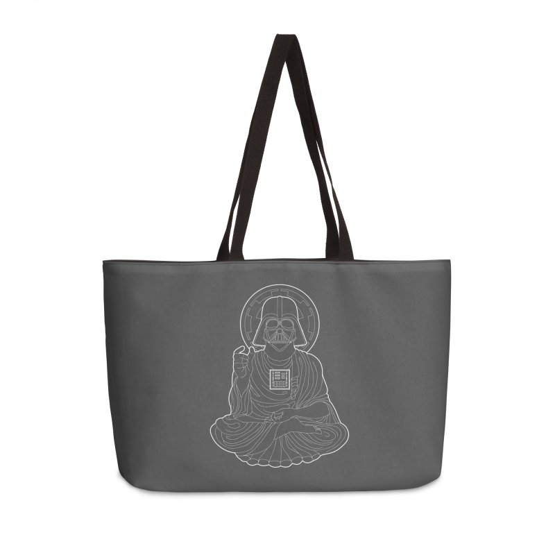Darth Buddha Accessories Weekender Bag Bag by dZus's Artist Shop