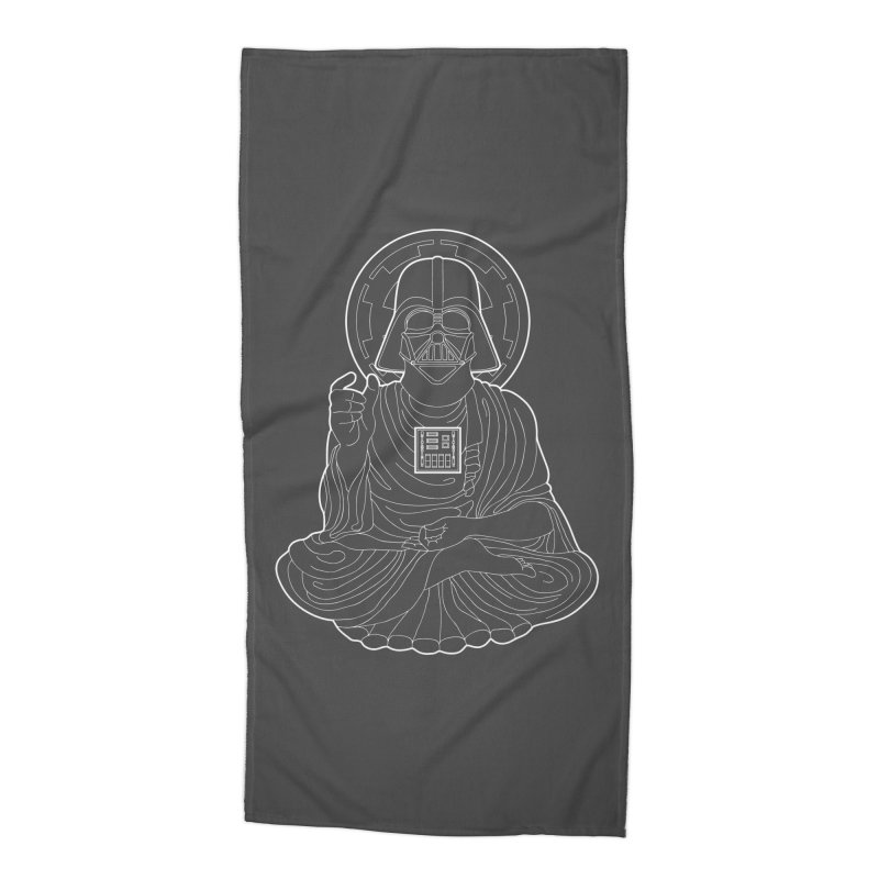 Darth Buddha Accessories Beach Towel by dZus's Artist Shop
