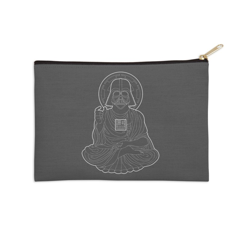 Darth Buddha Accessories Zip Pouch by dZus's Artist Shop